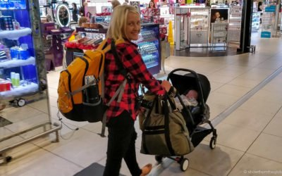 15 tips for flying with a baby