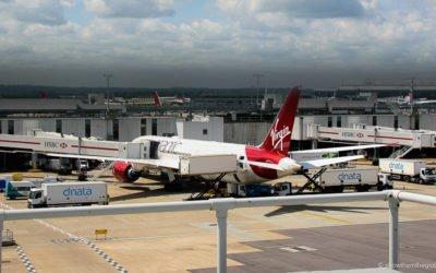 Virgin Atlantic Upper Class with a Baby