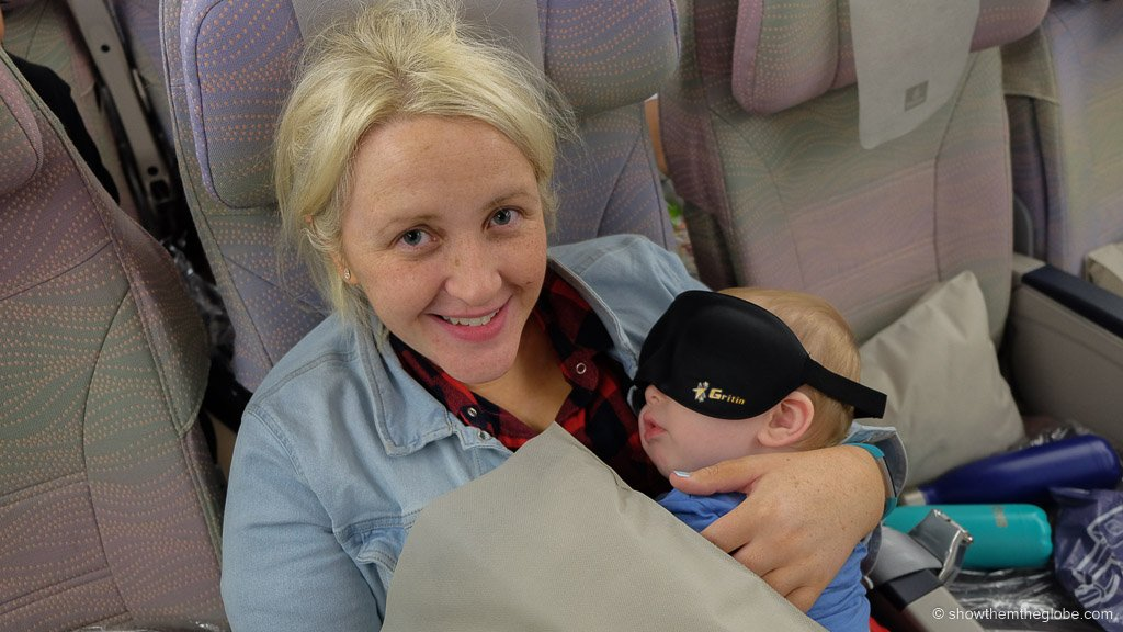 Emirates with a baby: flying Emirates with an infant