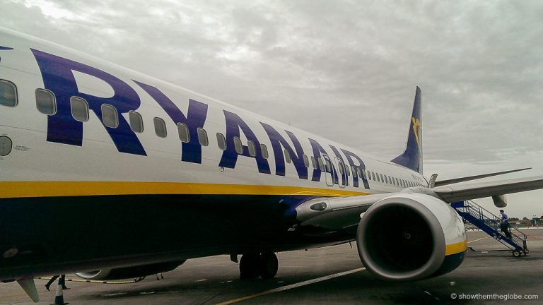 flying Ryanair with a baby