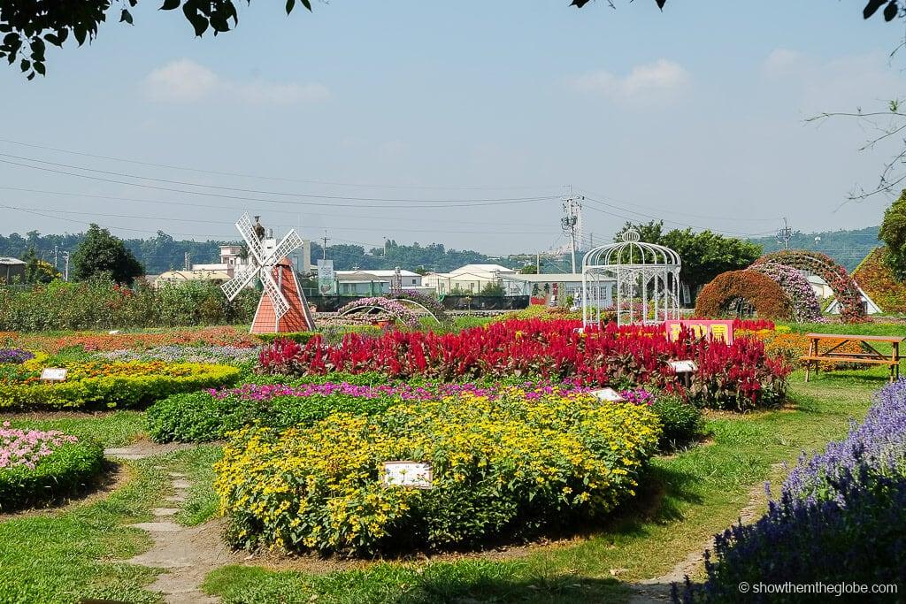 Zhongshe Flower Market Taichung Taiwan